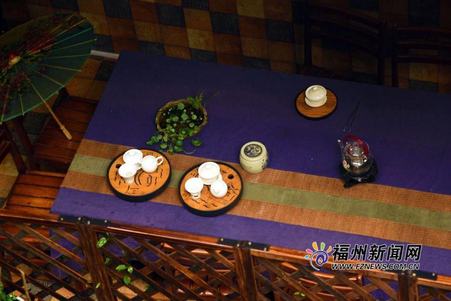 古街隐藏着各种小小的院子,书屋,茶社等。福州新闻网记者 林志源