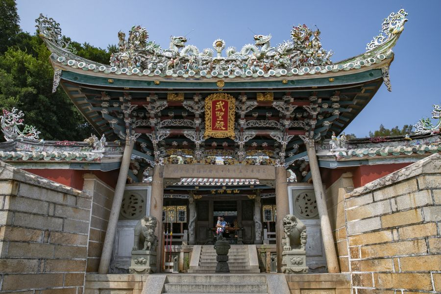 东山关帝庙。肖国和 摄