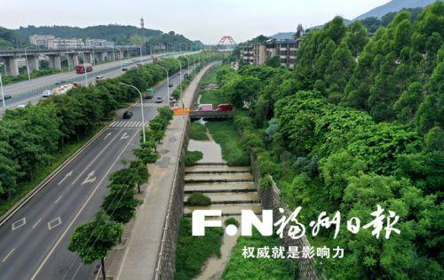 清淤截污景观提升 福州义井溪沿线将增6万平方米绿化