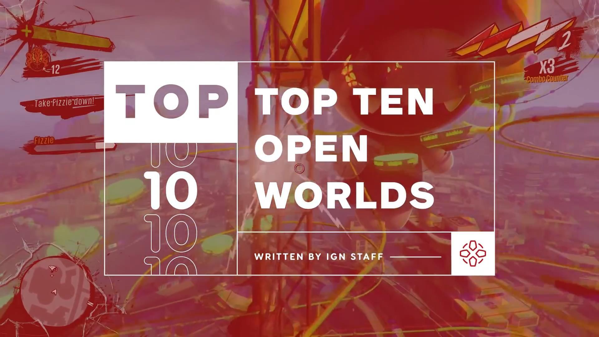 IGN评选游戏史上十大开放世界 《GTA5》洛圣都居首