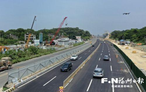 对外开放通行!福州三环上高速再添捷径!