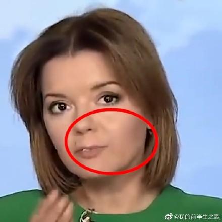 乌克兰女主持玛丽亚·帕达尔科直播时门牙脱落原因照片一览