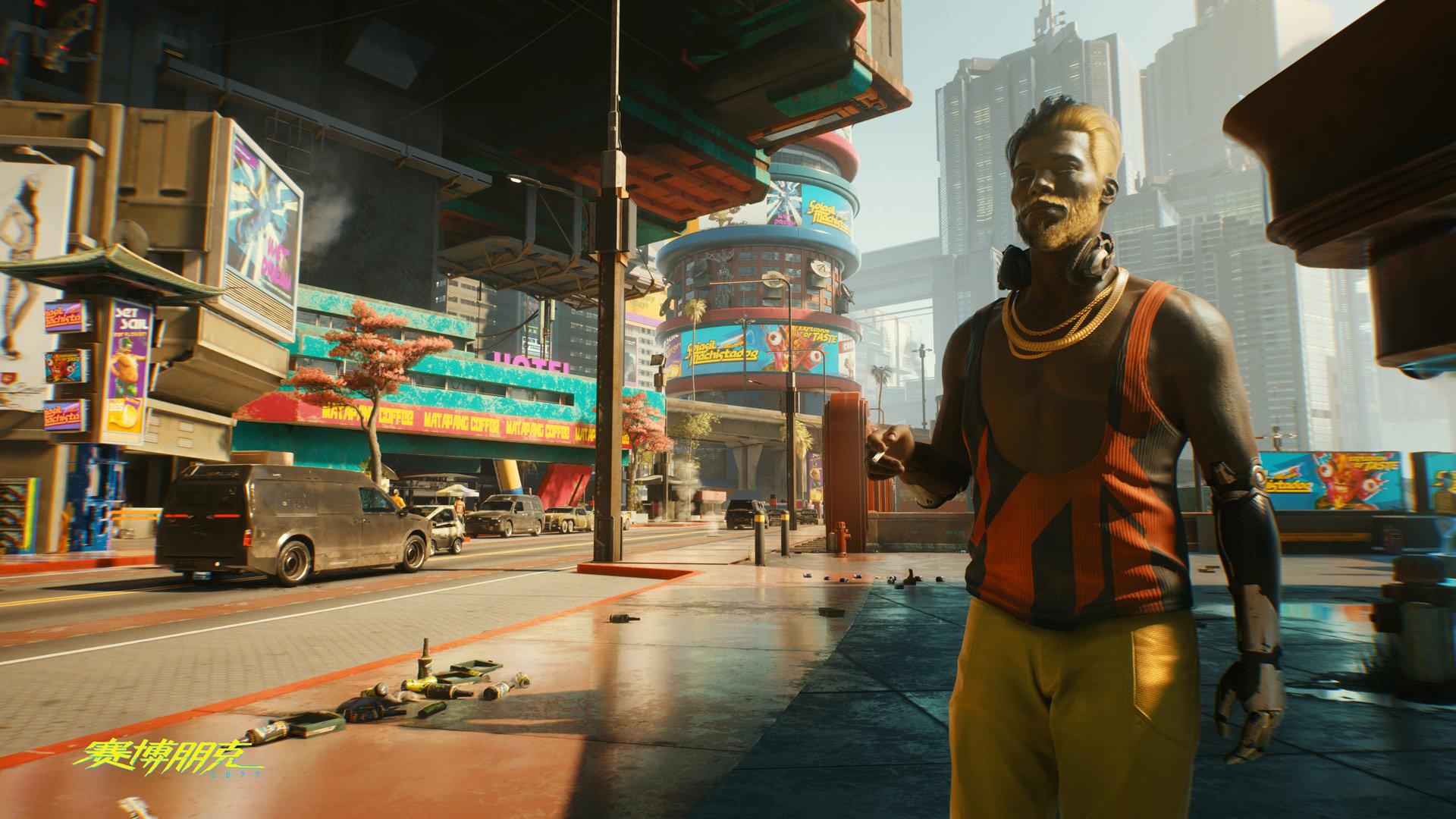 《赛博朋克2077》人物形象图 主角V超梦技师朱迪等亮相