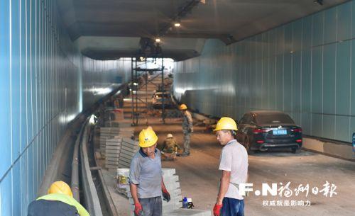 福州洪山橋頭下穿通道8月2日通車