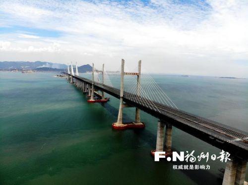 平潭海峽公鐵兩用大橋啟動荷載試驗