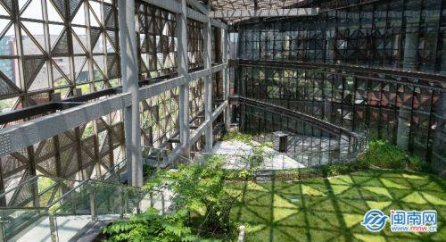 图书馆的空中花园