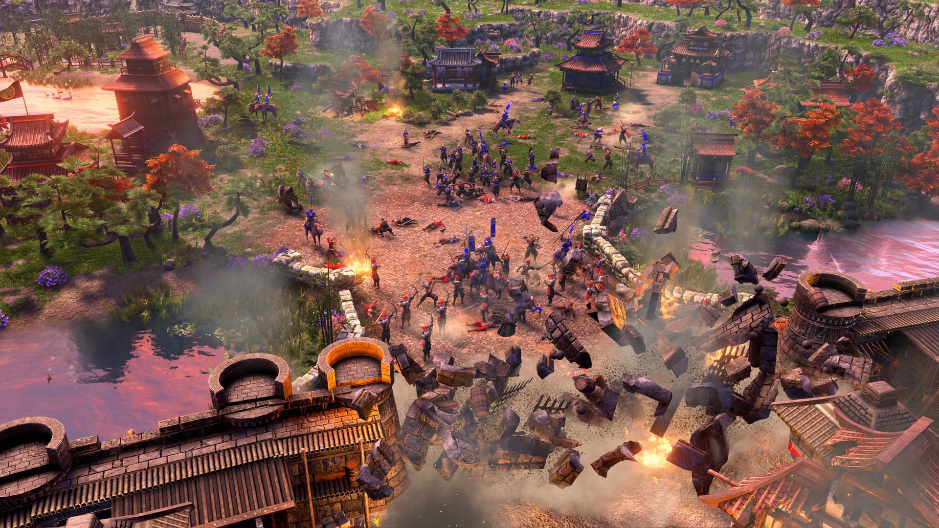 《帝国时代3:决定版》截图对比 重制画面更出色