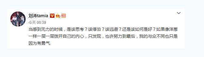 刘涛无力的时候该如何是好怎么回事 刘涛怎么了为什么这么说全文曝光
