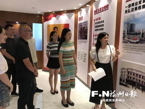 """引領誠信經營 東百商圈打造""""紅色風景線"""""""
