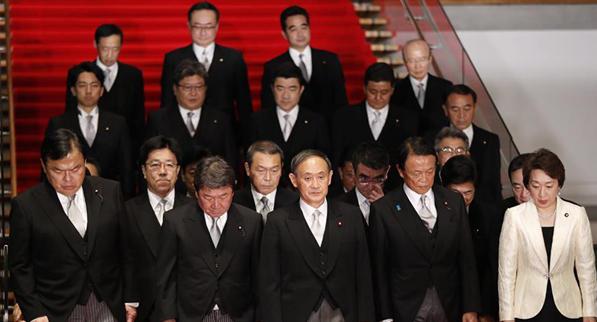 日本新內閣優先應對疫情與經濟復蘇