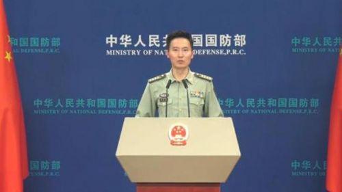 国防部回应解放军在台海地区演练 国防部回应说了什么