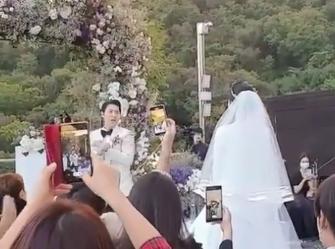 JUNJIN婚礼现场图曝光太欢乐了 神话JUNJIN个人资料老婆是谁