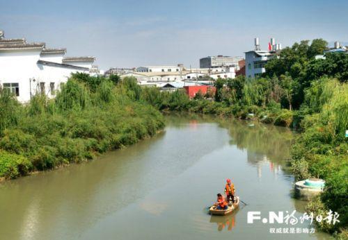 福州龙津阳岐水系做好长效管护 白湖亭河完成截流井渗漏问题整改