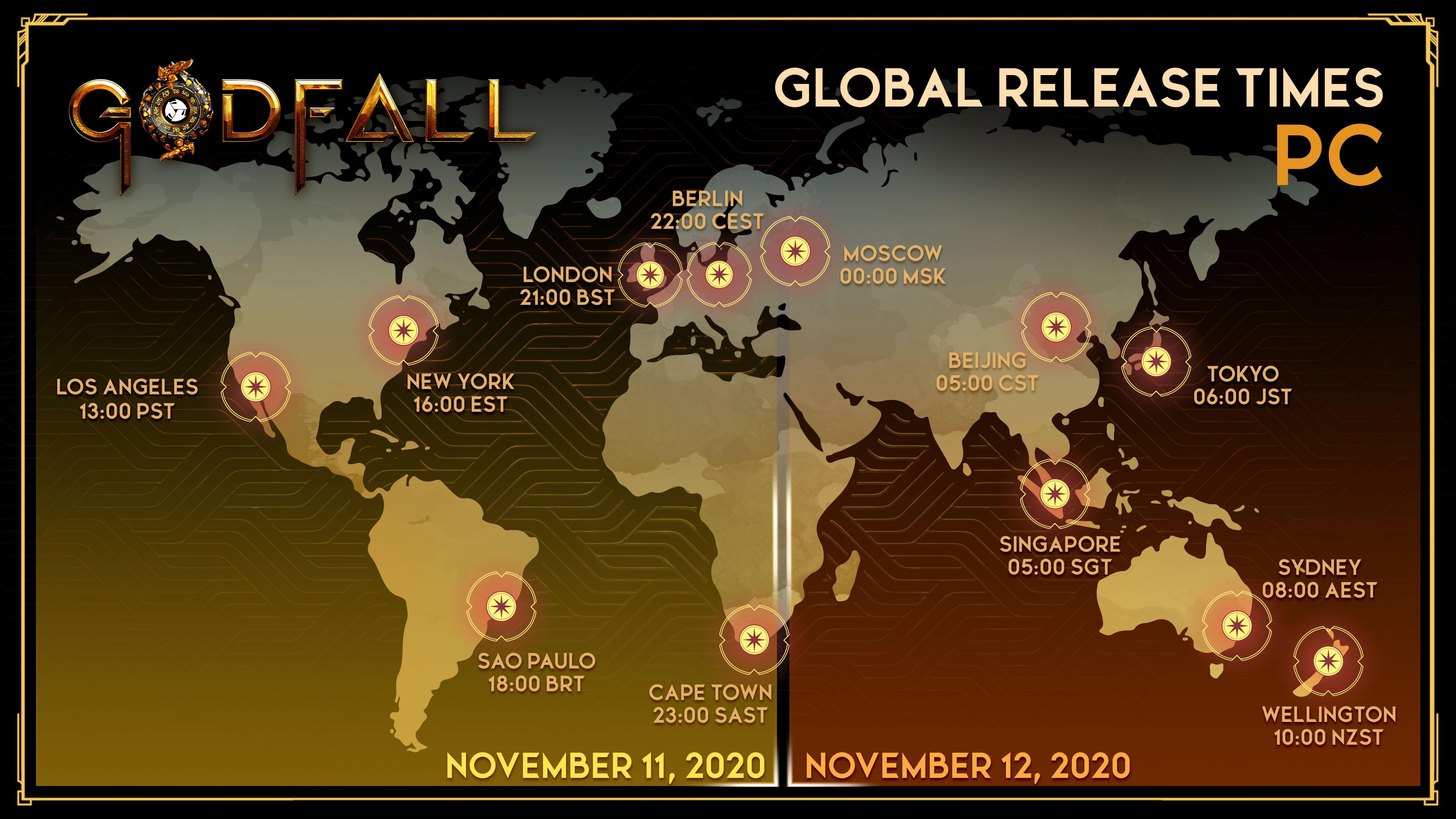 《众神陨落》解锁时间公开 PC版11月12日5:00