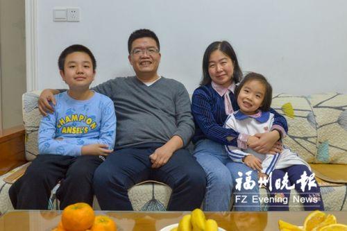 """这个全国文明家庭 快6年了终于拍到一张""""全家福"""""""