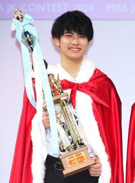 2020年日本最美最帅高中生评选结果公布:埼玉县的中野晴仁当选最帅校草