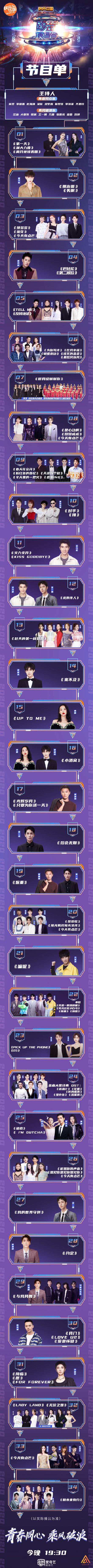 2021湖南卫视跨年演唱会节目单 湖南卫视跨年节目单完整版