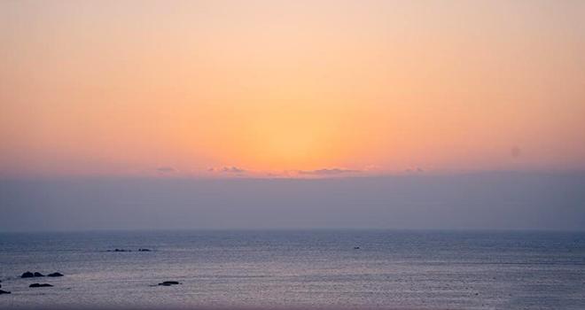莆田湄洲島:觀海上絕美日出 沐浴新年第一縷陽光