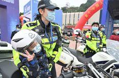 """福建福州:警民共庆""""中国人民警察节"""""""