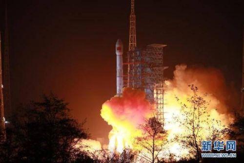 中国成功发射天通一号03星迎2021年开门红 卫星顺利进入预定轨道