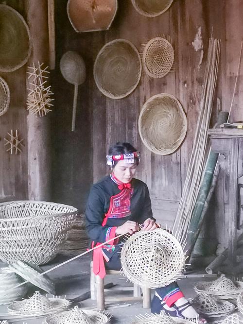 赤溪畲村的畬族文化遗产展示。 (2)