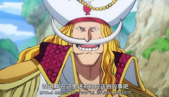 海贼王动画最新情报:压制御田的强者,白胡子随便敲一下就打倒了?