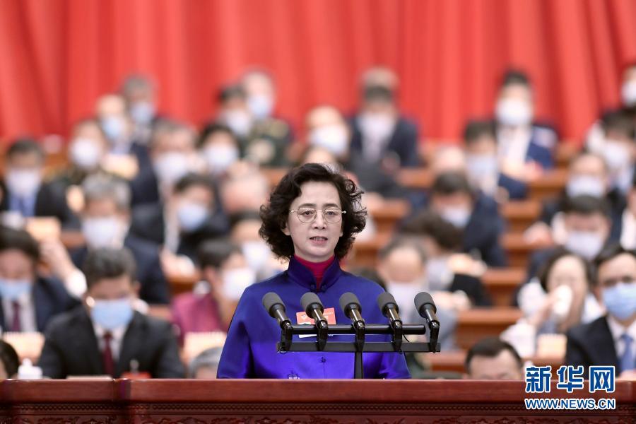 吴国华委员代表台盟中央发言:培育新时代两岸青年共同的家国情怀