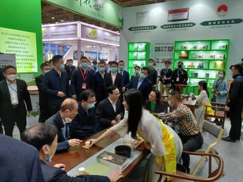 福建茶紧抓首届中国跨境电商交易会商机拓外销渠道