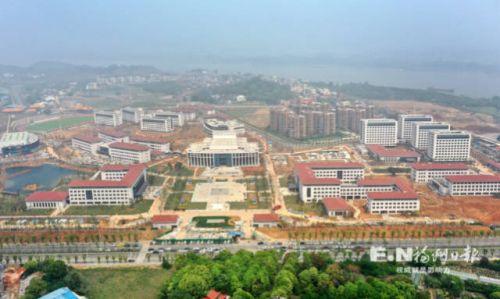 千人會戰攻堅忙 省委黨校新校區下月全面竣工