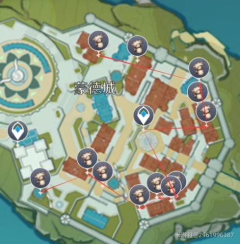 原神慕风蘑菇在哪采 慕风蘑菇采集位置一览