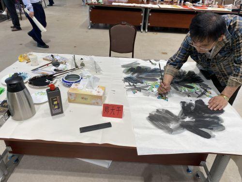福州高新区举办庆祝建党一百周年书画笔会