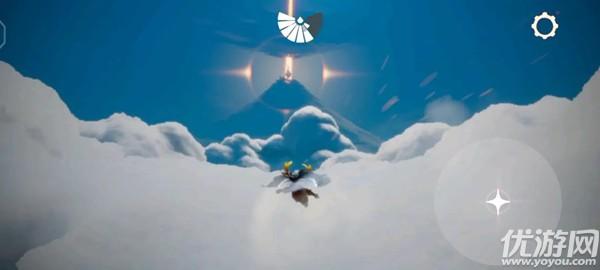 光遇云顶浮石在哪里 光遇在云顶浮石上冥想位置介绍