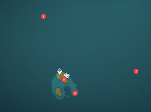 原神海岛怎么100%探索?原神海岛全资源地点位置介绍