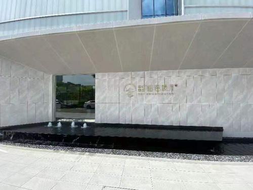 △第三站赛事举办地绿城美的桂语映月售楼部