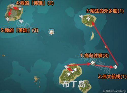 原神回声海螺都在哪收集?6月11日回声海螺位置第二天位置坐标大全