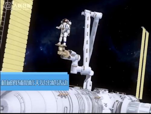 中国空间站机械臂到底有多牛?一连串动作太酷了!简直无所不能!