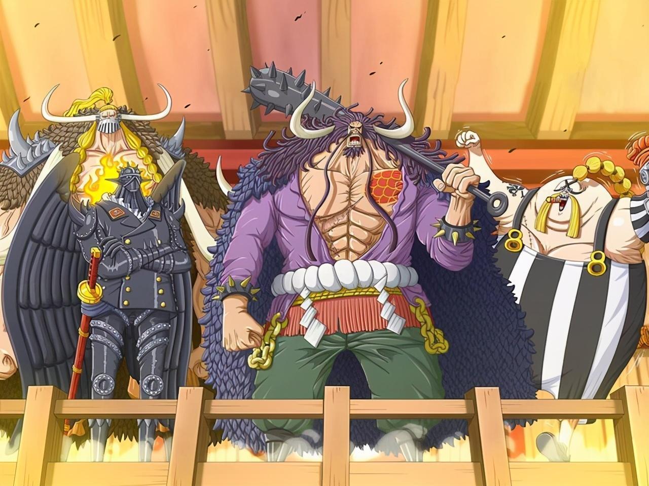 海贼王百兽海贼团内部的几个毒瘤,谁该为失败背锅呢