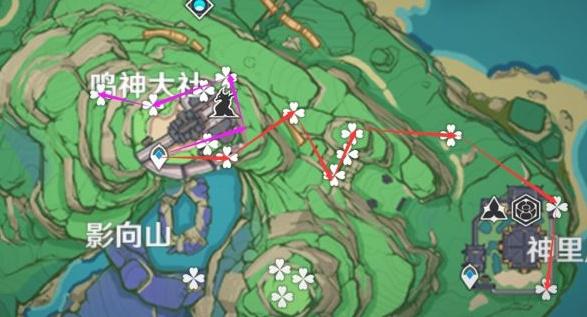 原神绯樱绣球分布位置在哪里?原神绯樱绣球分布位置汇总