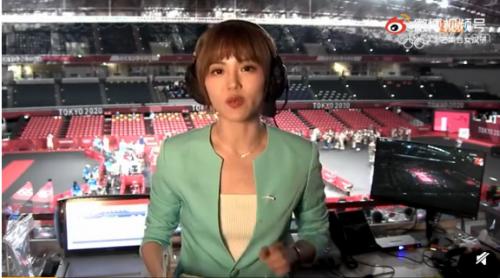 央视乒乓球解说抢镜!央视女主播高菡个人资料简介