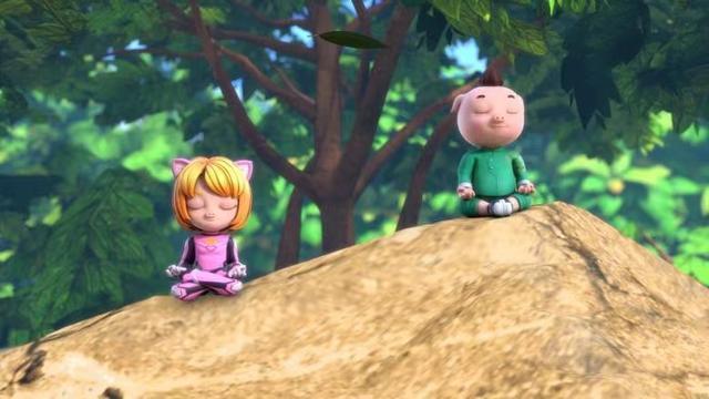 《猪猪侠》全体换画风,小呆呆无缘主角团,美女娜娜加入