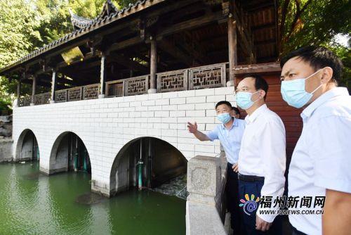 """林寶金帶隊巡河并調研""""兩江四岸""""核心段環境提升及內河通航工作"""