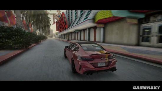 《侠盗猎车手:圣安地列斯》画面大修MOD更新 超强画面、雨天效果贼棒