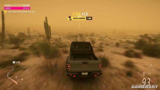 《极限竞速:地平线5》8分钟实机演示 多样地貌扬沙狂飙