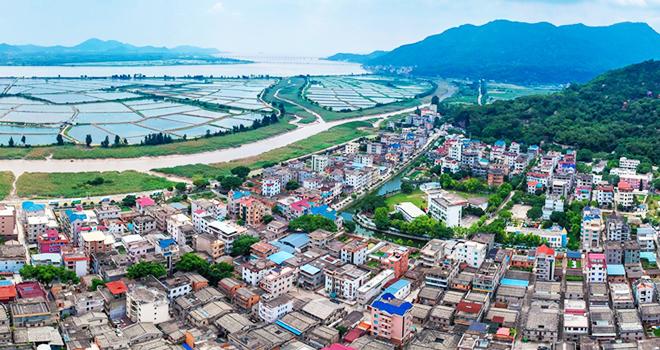 长乐猴屿村:侨乡样板村奔向新愿景